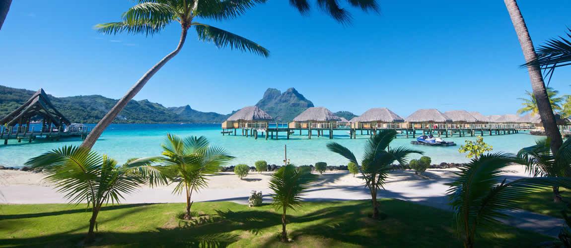 View from Bora Bora Pearl