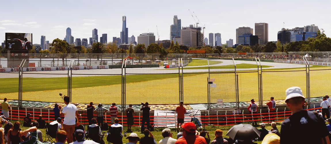 Albert Park F1 track