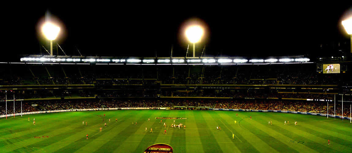 Aussie rules at Melbourne's MCG