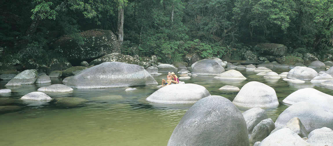 Rock Pool at Mossman Gorge