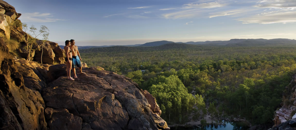 Kakadu natural plunge pools