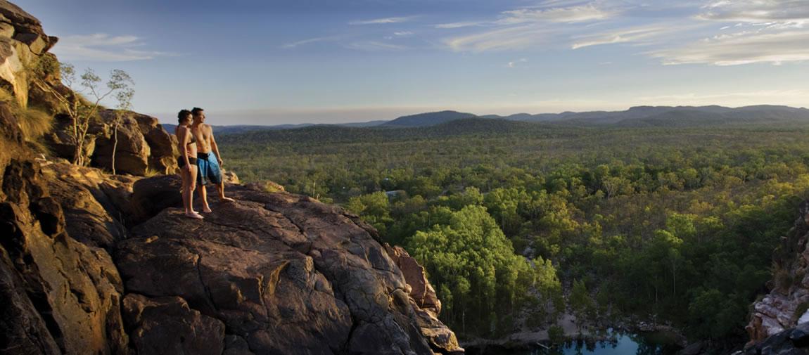 Kakadu natural plunge pools