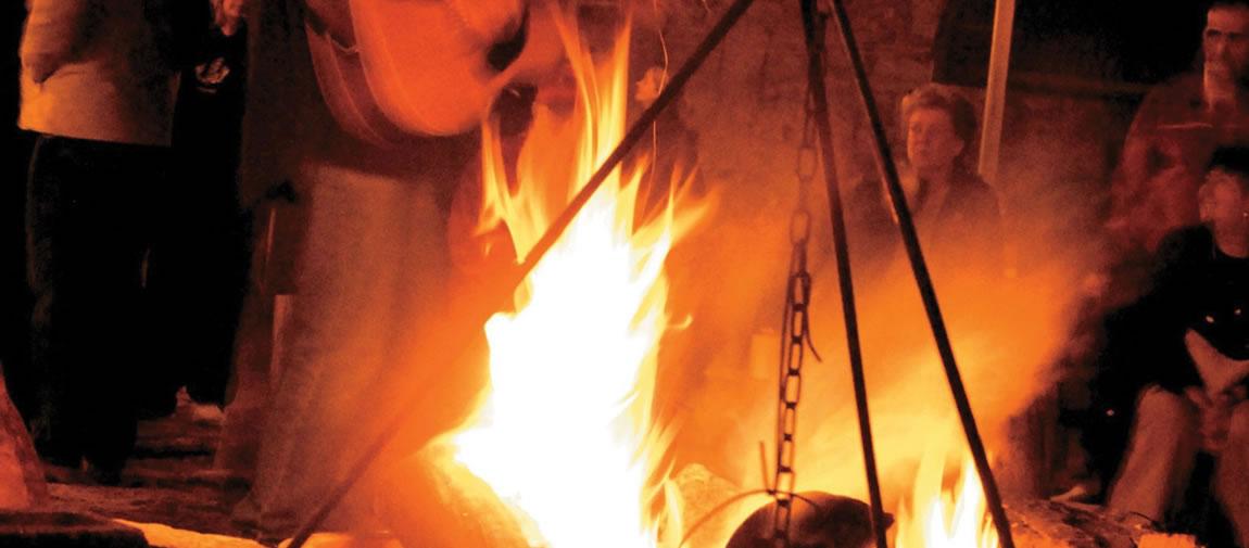 Outback campfire