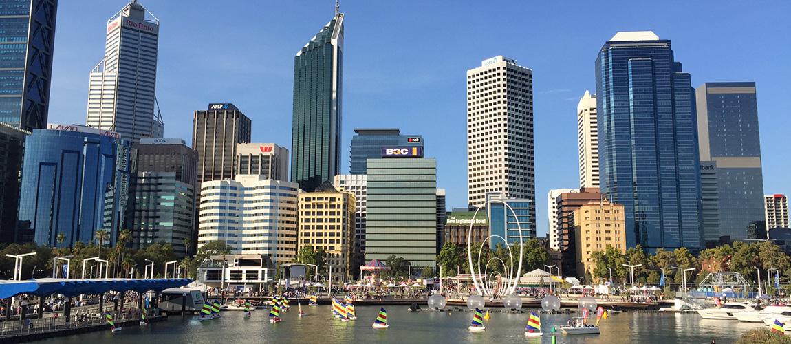 Perth's Elizabeth Quay