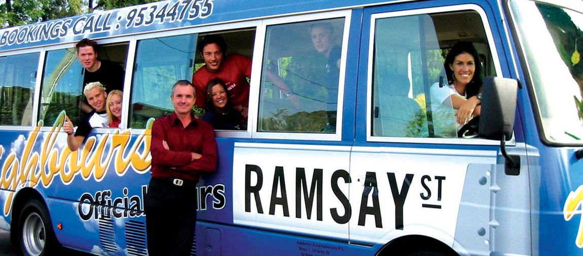Ramsay Street tour in Melbourne