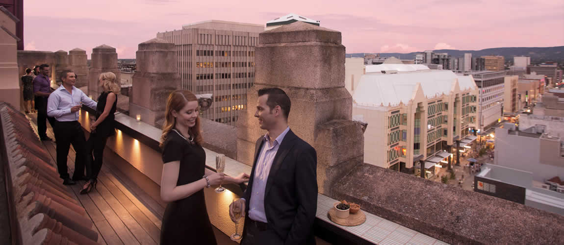 Mayfair Adelaide rooftop bar