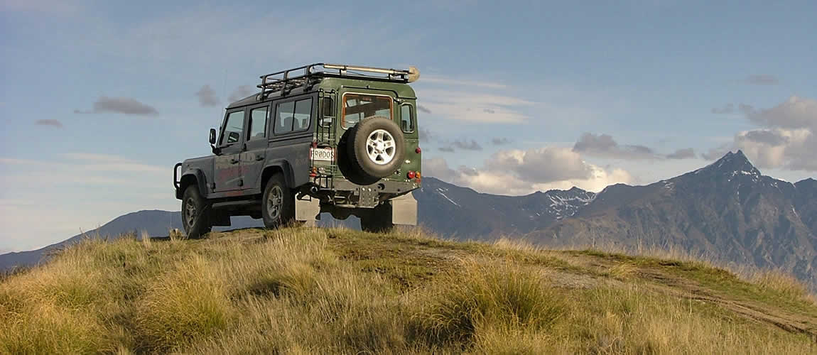Nomad Safaris Land Rover