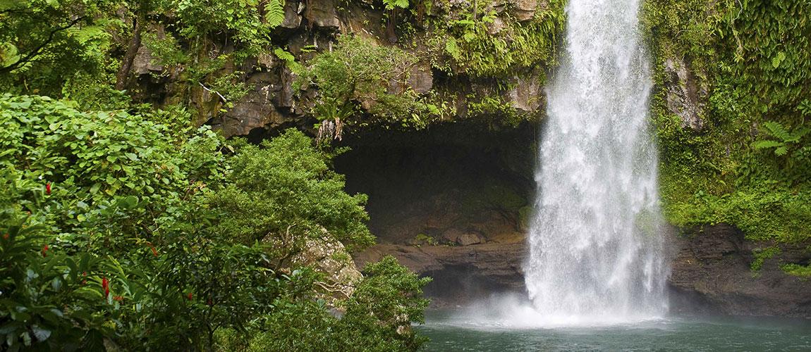 Viti Levu waterfall