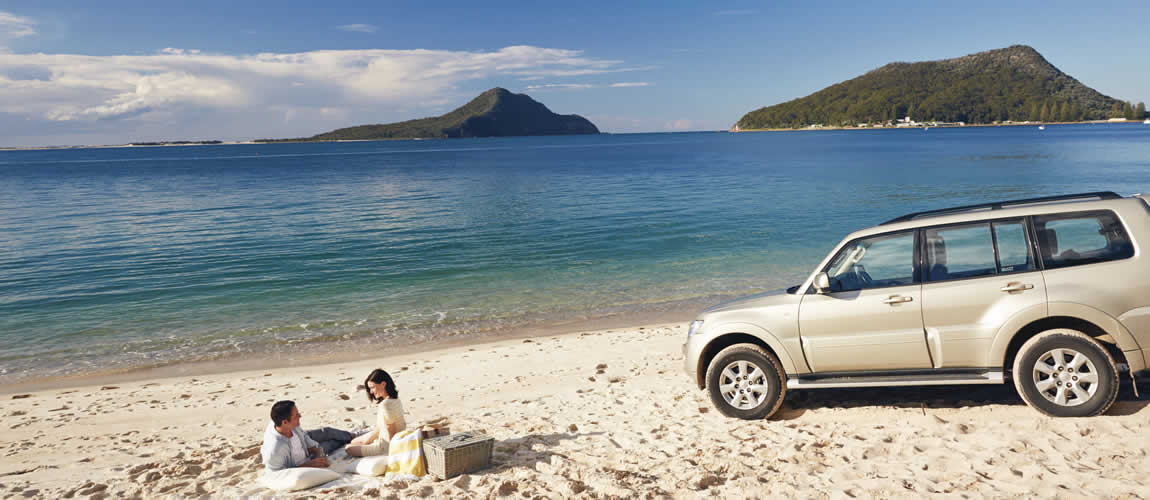 Shoal Bay Beach in Port Stephens