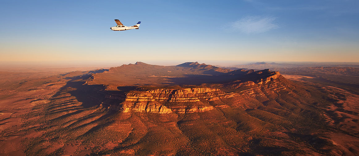 Scenic flight over Wilpena Pound