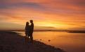 Sunset on Lady Elliot Island