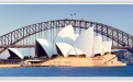 Sydney Harbour Bridge over a body of water