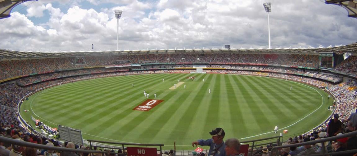 a stadium full of people