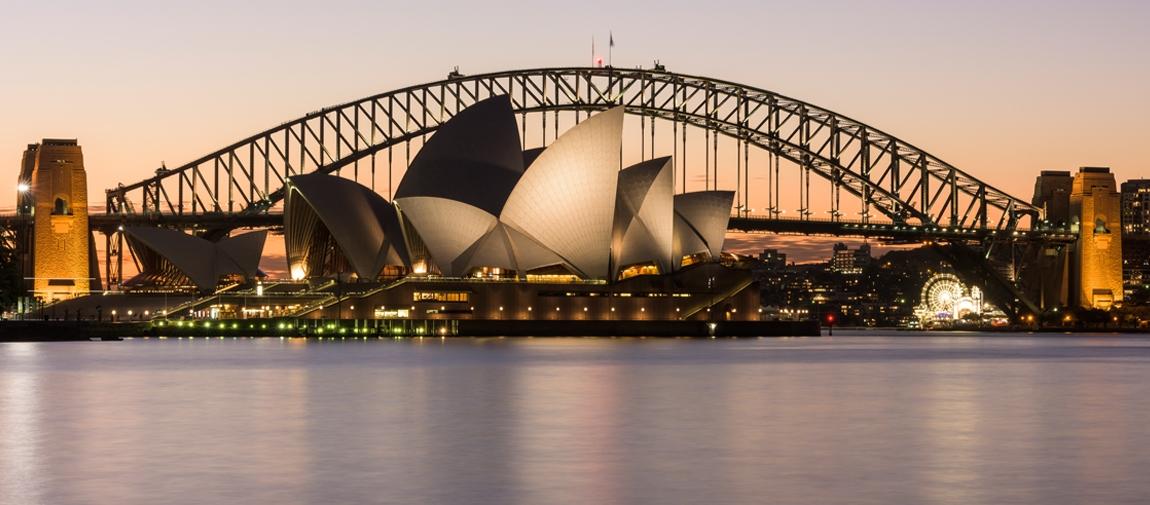 Australia encompassed
